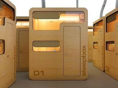 Office pods | ... wherever you are, keep you mind rested Modular Office Pod Sleep Box