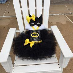 BAT GIRL tutu set batman costume bat girl costume by SarahsMoon