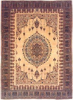 Antique Tabriz Persian Rug 3209 Main Image - By Nazmiyal