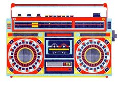 decorate your own boombox/ipod...