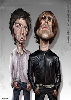 Gallagher Brothers ~ Oasis