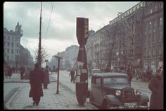 After German bombardment of Poland. Location:Warsaw, Poland Date taken:October 1939 Photographer:Hugo Jaeger