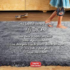 Para ter um tapete sempre com carinha de novo, alguns cuidados são necessários. Se você possui um tapete Tapetes São Carlos, você já está em vantagem! Obs.: Indicamos que você procure uma empresa especializada para que seu tapete receba o melhor tratamento possível. Coleção Joy, Quartzo.