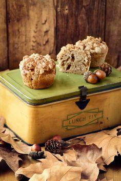 Receta de #muffins de #manzana y #canela