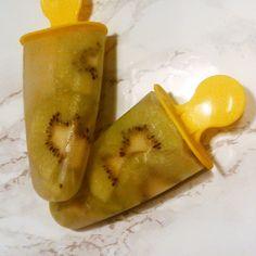 Mönstrade glassar med smak av fläder och kiwi av Pernilla på Sandydowns Juni, Pear, Fruit, Glass, Food, Drinkware, The Fruit, Meals, Pears