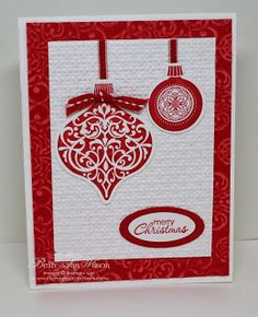 Christmas Ornaments Keepsakes in Red