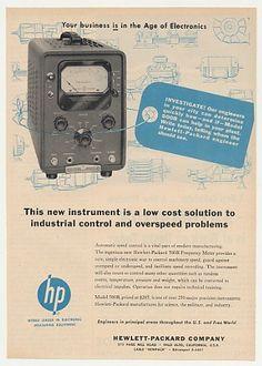 Hewlett Packard 1955