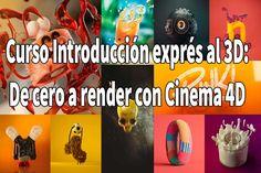 Descargar  Curso Introducción exprés al 3D De cero a render con Cinema 4D  | Domestika |[MEGA] 1 link