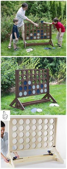 DIY Garden Upgrade Projects To Make Your Kids Love Stay Outside: Backyard design, outdoor theater, games, and landscaping for modern home Backyard Gazebo, Backyard For Kids, Diy Pergola, Outdoor Activities For Kids, Outdoor Games, Outdoor Play, Outdoor Living, Auction Projects, Auction Ideas