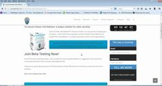 Secure Hunter Anti-Malware Beta Testers Aree Welcome www. Ads