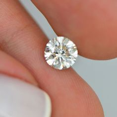 Certified One Carat H SI1 Round Brilliant Loose Real Diamond For Engagement Ring #MyDiamonds