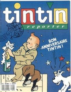 Journal Tintin Reporter N° 5 du 6 Janvier 1989