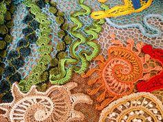 Irish crochet &: Lovely blouse. Irish crochet