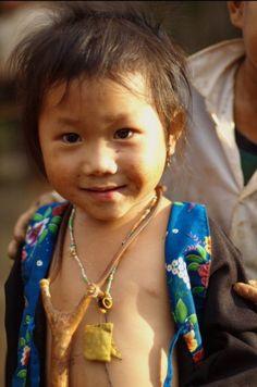 Hmong girl, Lao, 2008