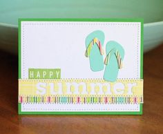 Cool summer card.  To the Full blog.