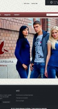 Magazin Online pe platforma de WordPress pentru magazinul de haine Santa Barbara Outfiters