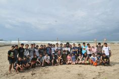THE GREEN ARMY AT SAWARNA BEACH
