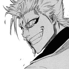 Grimmjow, I love when he had this eyes..