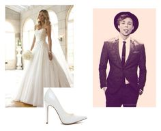 """wedding day - ashton"" by lukehemmings-5sos-cx ❤ liked on Polyvore"