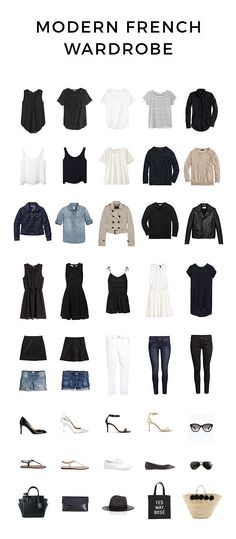 Modern French Wardrobe