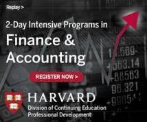 Harvard University Display ad