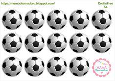 Mamá Decoradora: Futbol Soccer Ball, Barbie, Logos, Christmas, Free, Ideas, Thank You Cards, Digital Invitations, Xmas