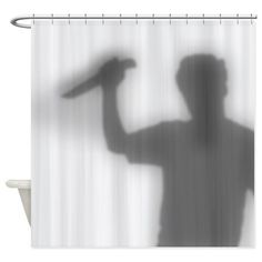 Psycho Shower Curtain 1 Curtains Vinyl Shower Curtains Spirit