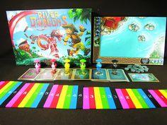 克勞德的桌上遊戲工作室: River Dragons