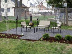 Stone Patio Backyard Ideas