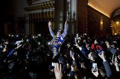 Notiferias Toros en Venezuela y el Mundo: El pueblo saca a Padilla por la Puerta del Príncip...