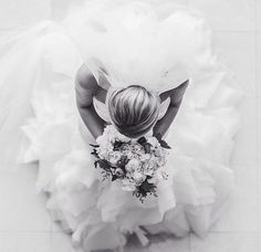 Bridal shot from above