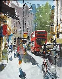 Artist Gerald Green #watercolor