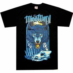MISS MAY I (ANGRY WOLF) T-SHIRT