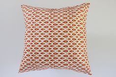 Orange Indre Pillow Cover