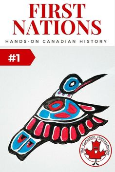 Hands-On Canadian History: First Nations Inspired Art - - The First Nations of Canada have history that includes rich and vibrant traditions, culture, stories, and artwork. Be inspired for your own art project. Aboriginal Education, Indigenous Education, Aboriginal Culture, Indigenous Art, Aboriginal Art, Art Education, Native Canadian, Canadian History, Canadian Art