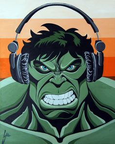 #Hulk #Fan #Art. (Funky Beats) By: LOU FERRIGNO JR. ÅWESOMENESS!!!™ ÅÅÅ+