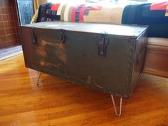 military footlocker file cabinet
