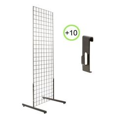 grid display racks for art shows