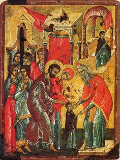 Введение во храм Пресвятой Владычицы нашей Богородицы и Приснодевы Марии.15 век