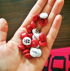 sweet on panda M & Ms ♡
