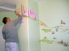 wall painting for the baby's room