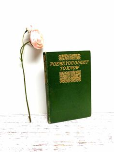 Antique Poetry Book ~ by beachbabyblues