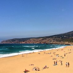 Cascais, beach, Portugal