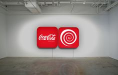 """Collective Hypnosis"" Installation Diptych lightbox, plexiglass 70x70x15 cm. info:ultraiabo@gmail.com"