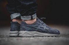 On-Feet Images Of The Asics Gel Kayano Trainer Concrete Grey