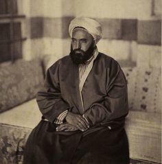 #OldPhoto of #Shaykh #Abd al-Qādir ibn Muḥyiddīn #ElDjezairi; (1807-1883). #Algeria #Islam #Sufism