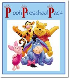 {FREE} Pooh Pack - 40 pages of learning fro kids 2-7 years. Includes 10 pages of learning about money!