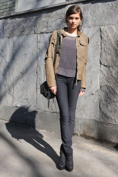 street style #style #fashion #jackets #pants