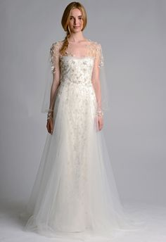 Marchesa Wedding Dress - 2014 Collection - (blog.theknot)