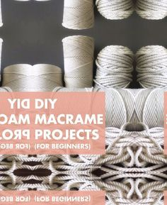Beginner Friendly Diy Macrame Projects 8211 Wonder Forest